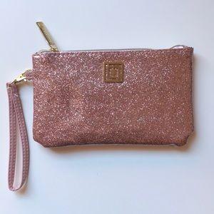 Liz Claiborne Pink clutch bag